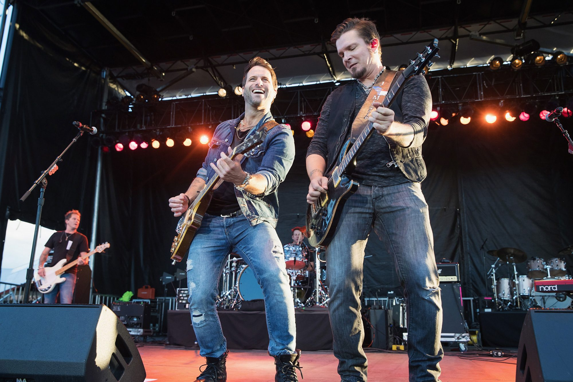 Getty Parmalee Performing