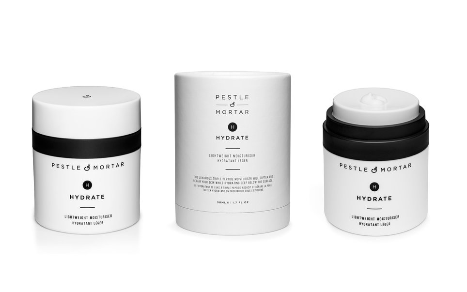 RX_1611_T+L Travel Beauty Gifts_Pestle & Mortar Hydrate Lightweight Moisturizer