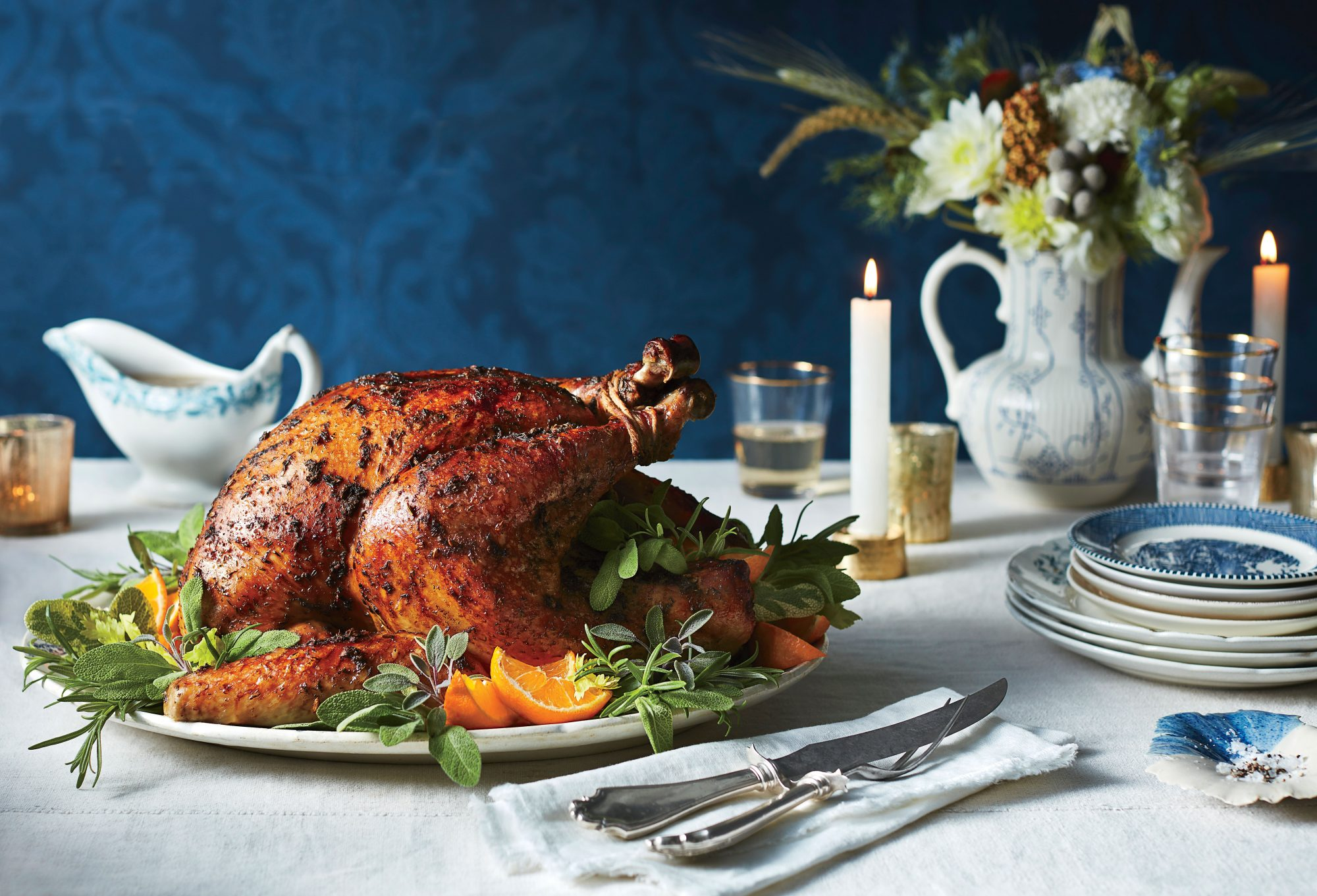 50 Best Thanksgiving Roasted Herb Turkey and Gravy