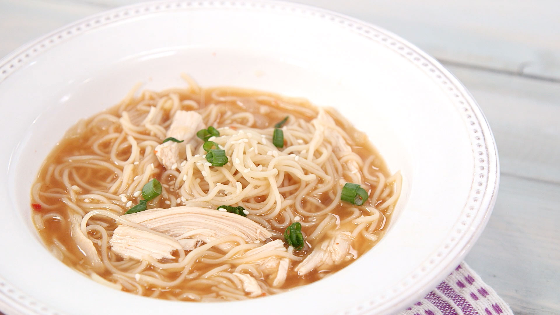 Chicken Soups Sriracha Chicken Noodle Soup