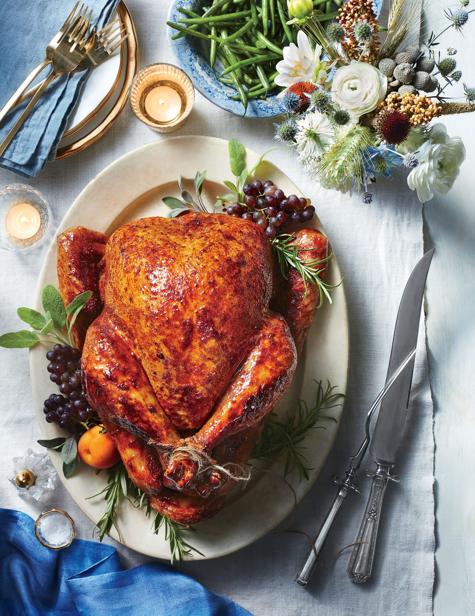 Sweet-and-Spicy Roast Turkey