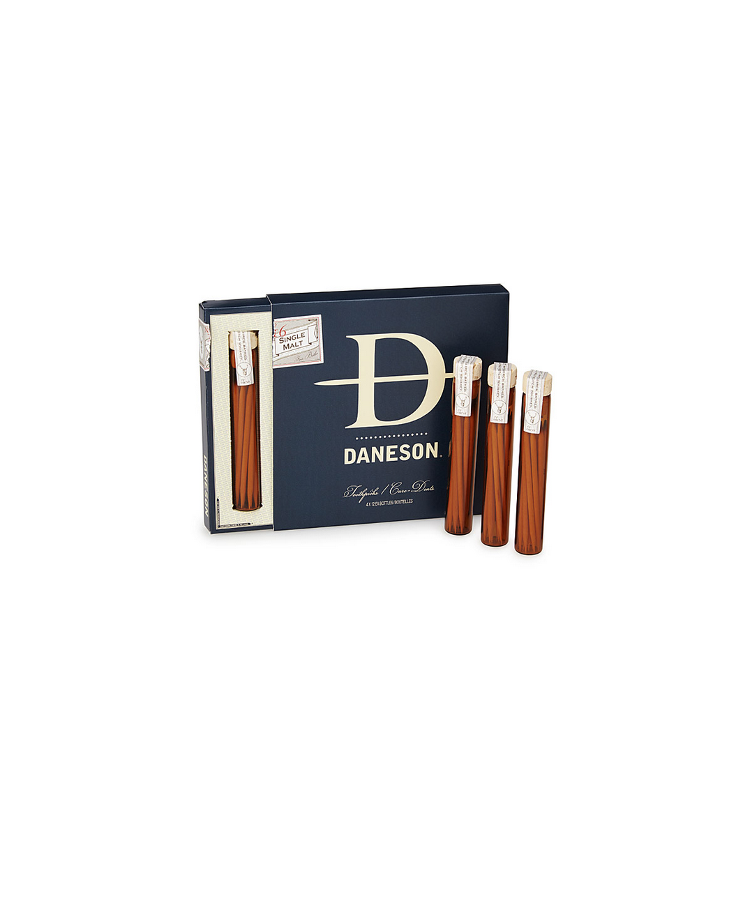Scotch Infused Toothpicks Gift Set