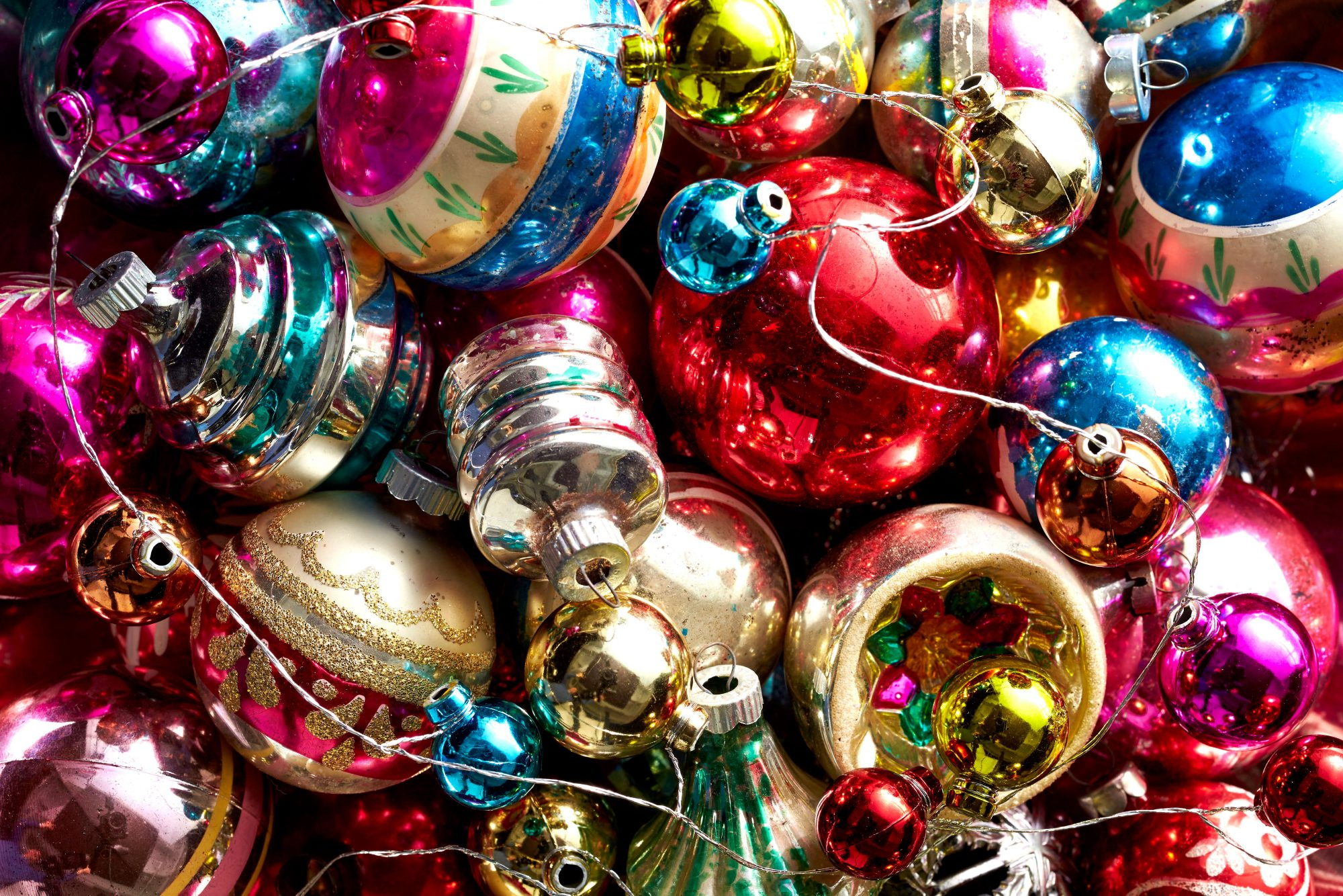 Clever ideas for storing your christmas decorations