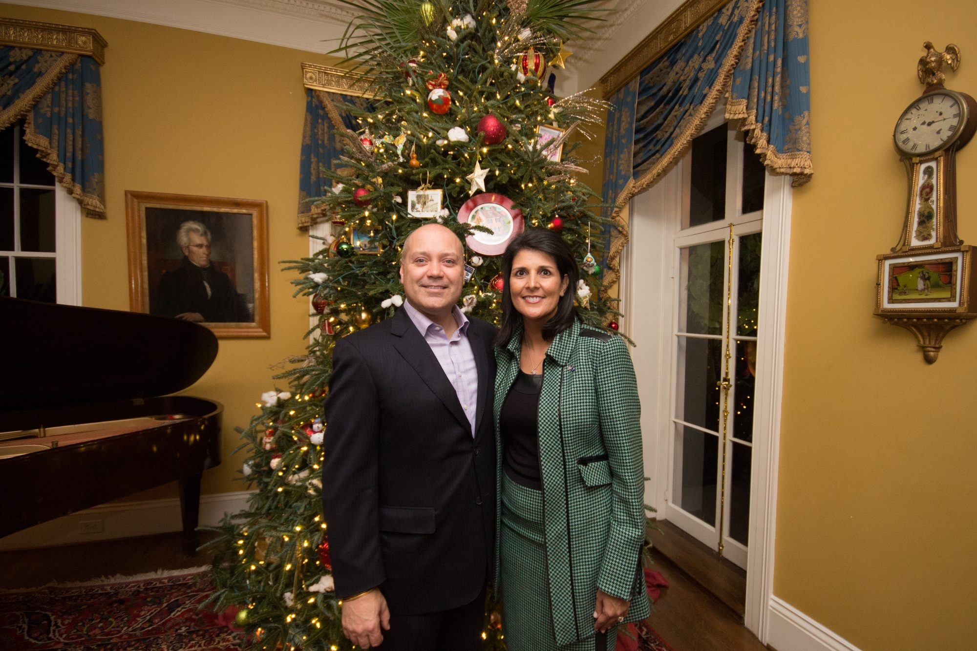 South Carolina Governor's Mansion Decorations