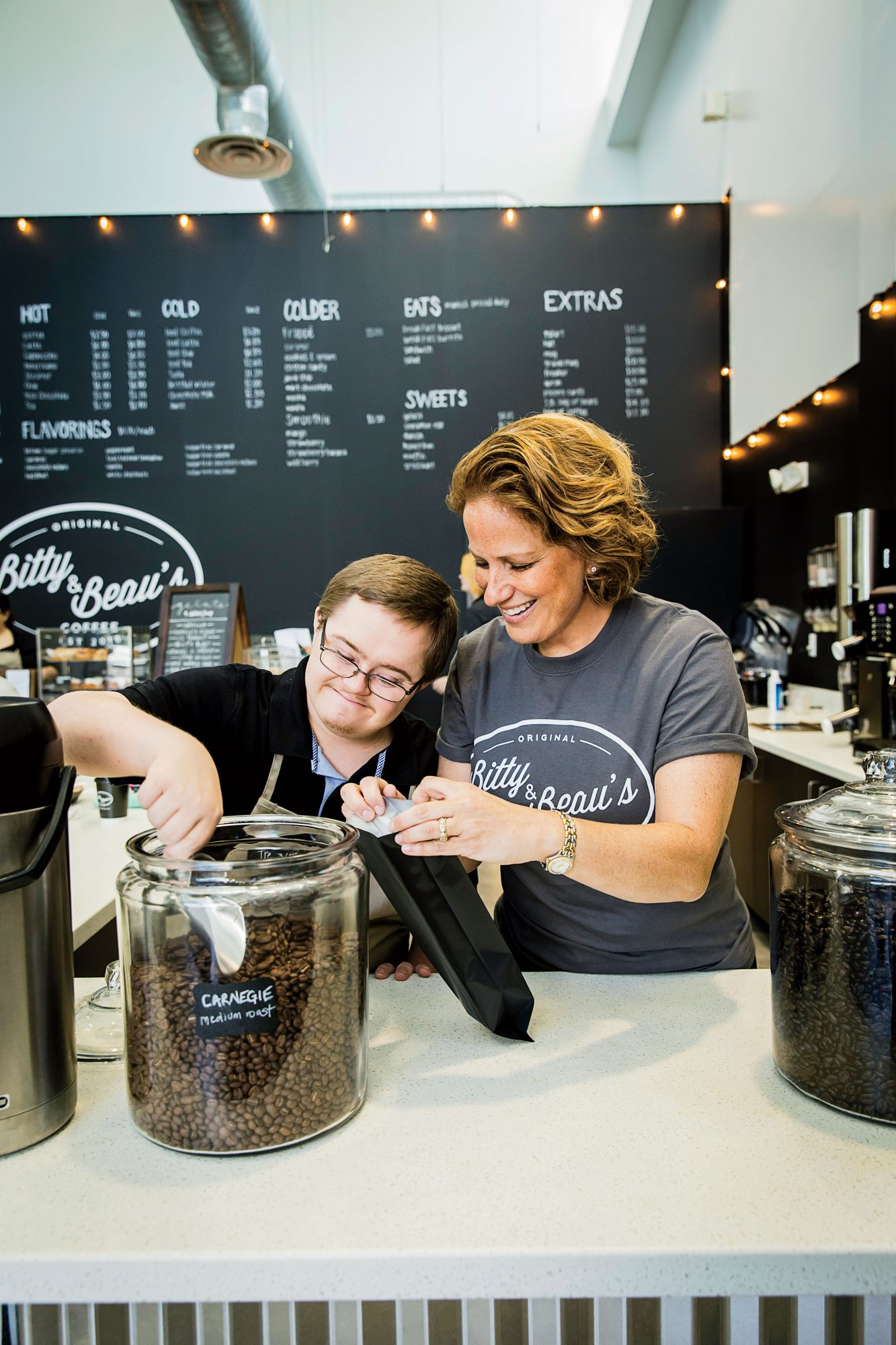 Amy Wright of Bitty & Beau's Coffee