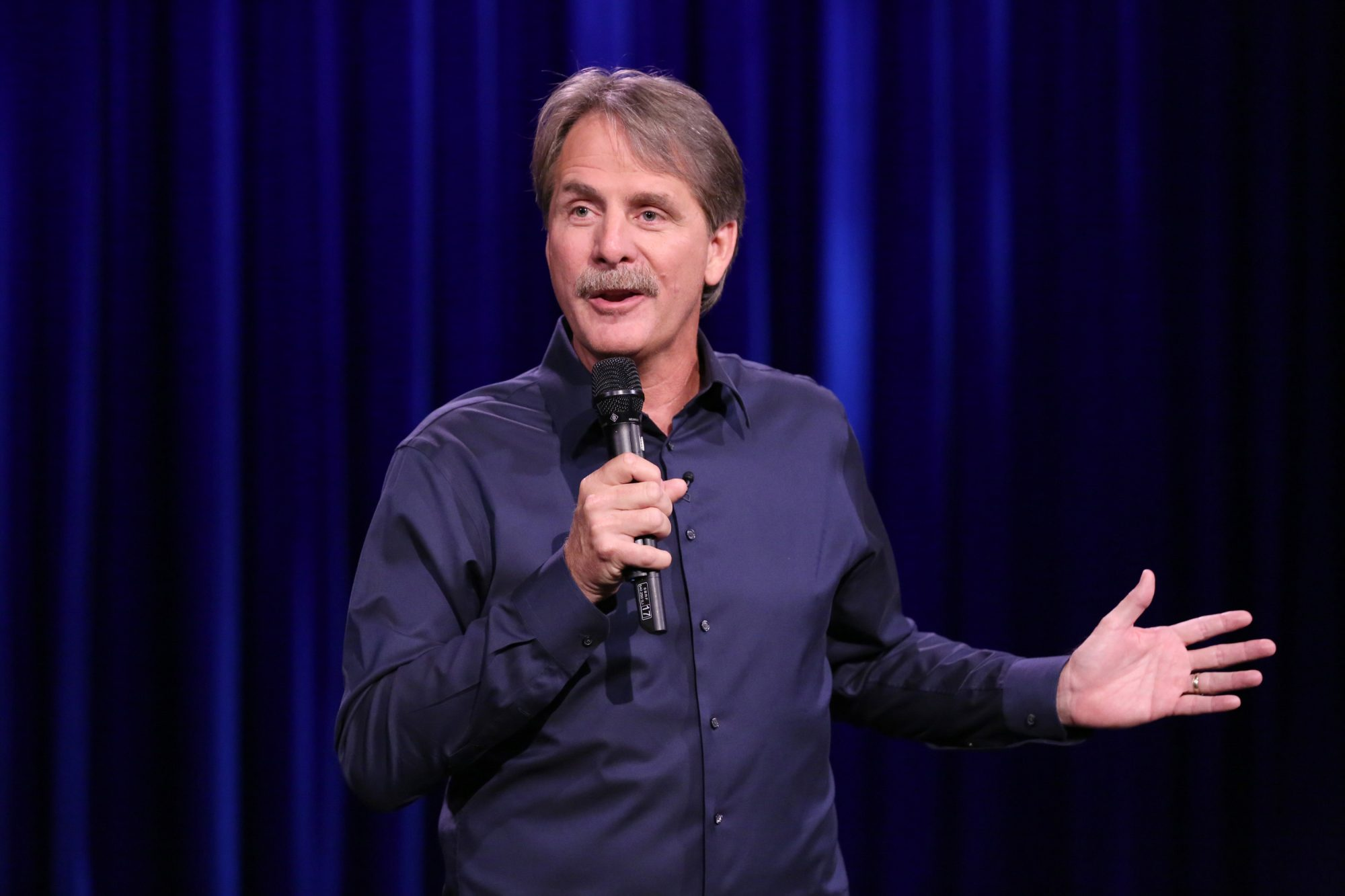 Comedian Jeff Foxworthy performs stand-up on August 26, 2016.