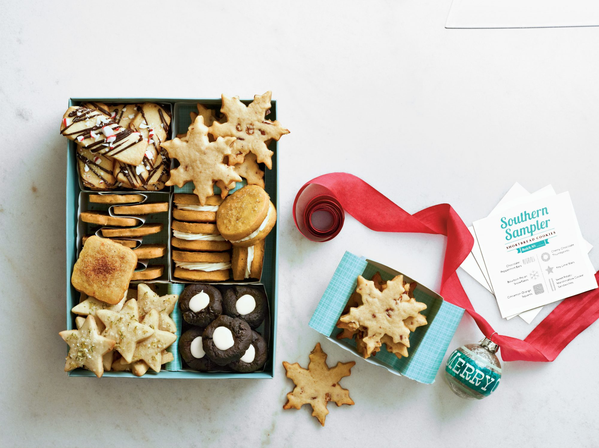 Cookies Packaged for Holiday Gifts