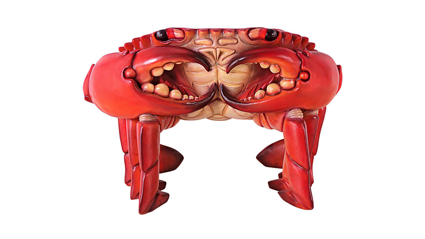 The Giant Red King Crab Sculptural Chair