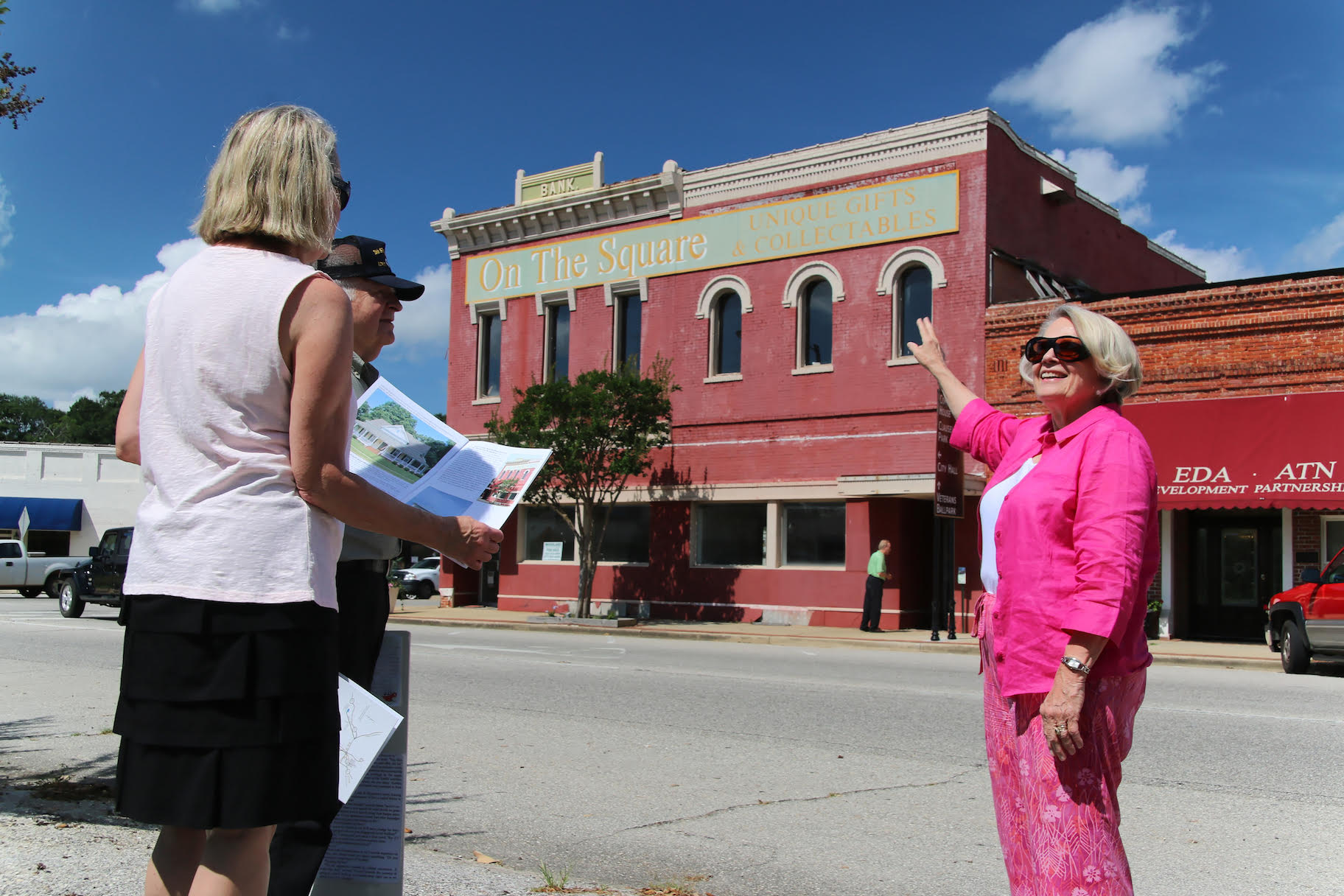 Downtown Monroeville Harper Lee Tour