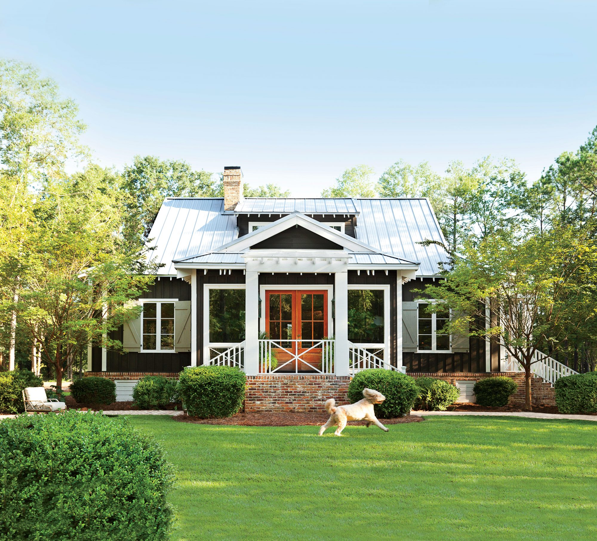 Dreamy house plans built for retirement southern living for Farmhouse plans
