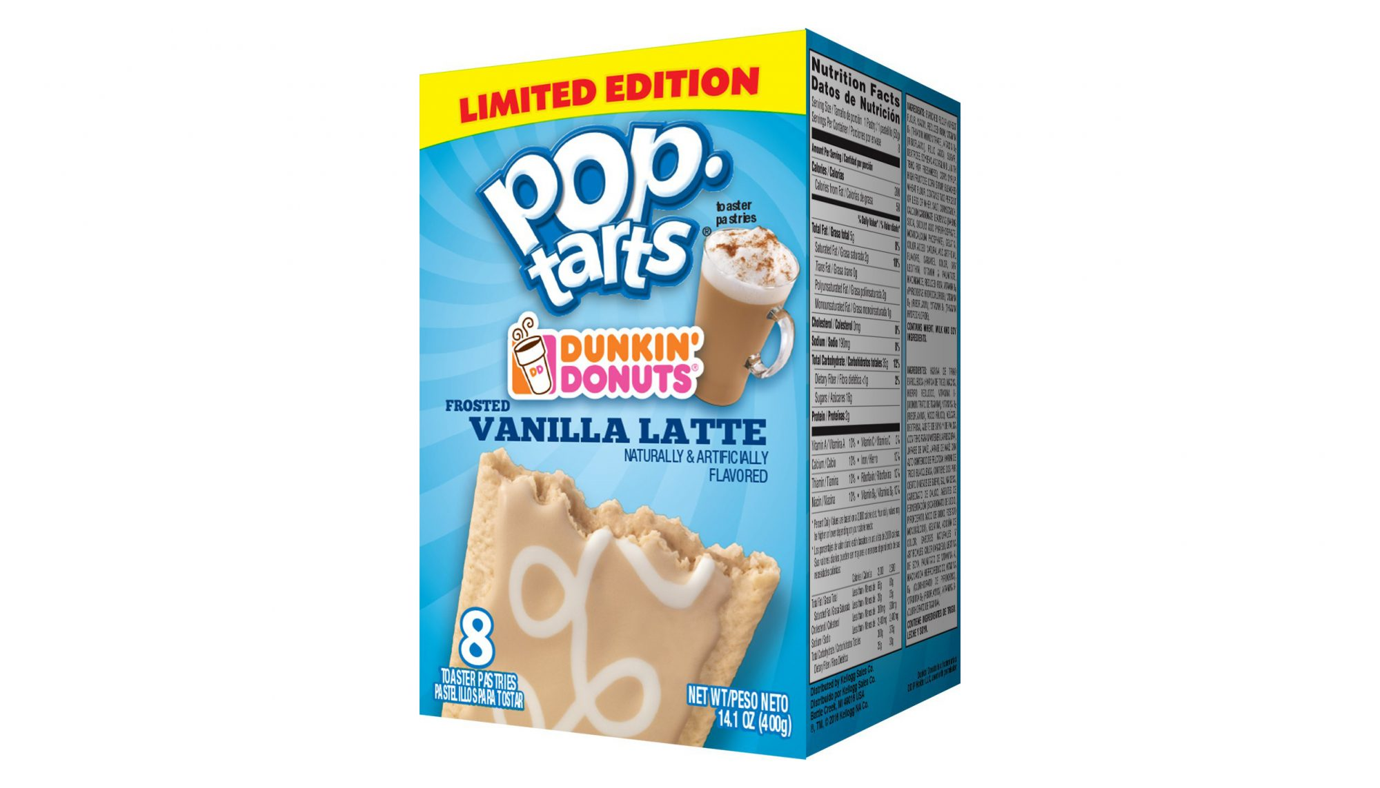 Pop Tarts and Dunkin' Donuts