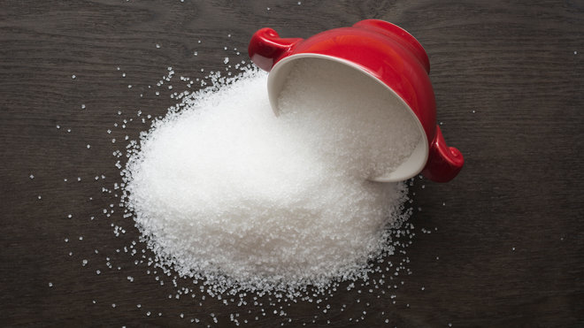 Sugar Spilling from Cup