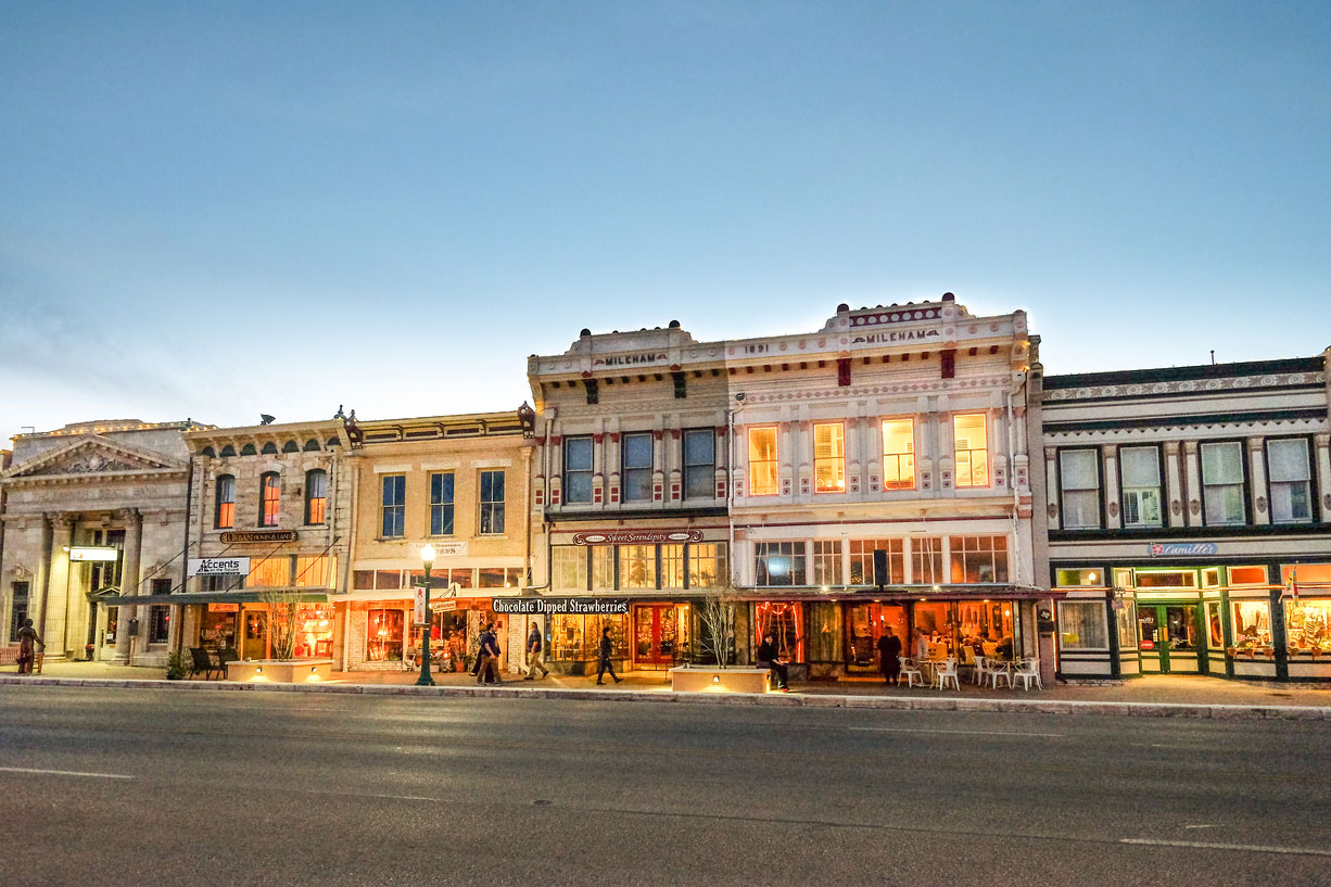 Most Southern Town in Texas: Georgetown