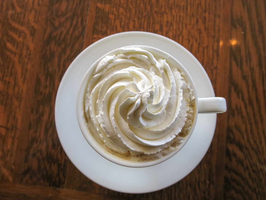 Whipped Cream in Coffee