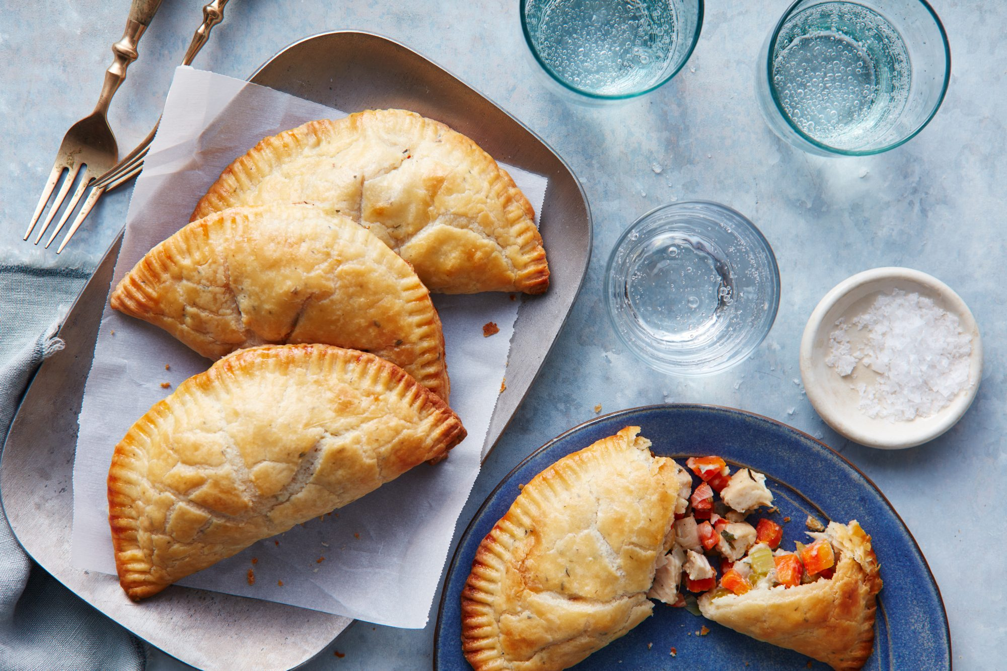 Chicken Pot Pie Hand Pies