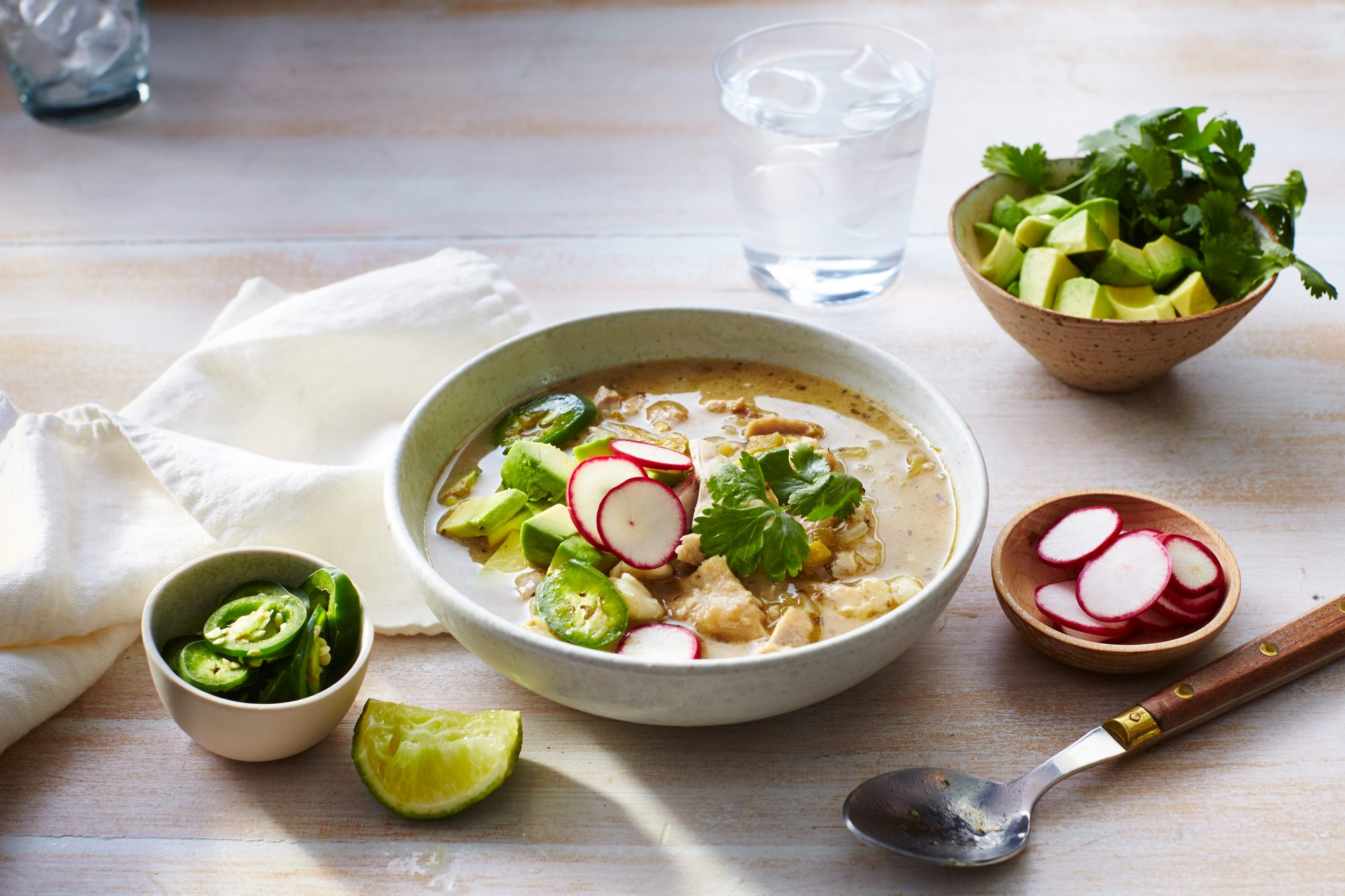 Slow-Cooker Green Chile Posole