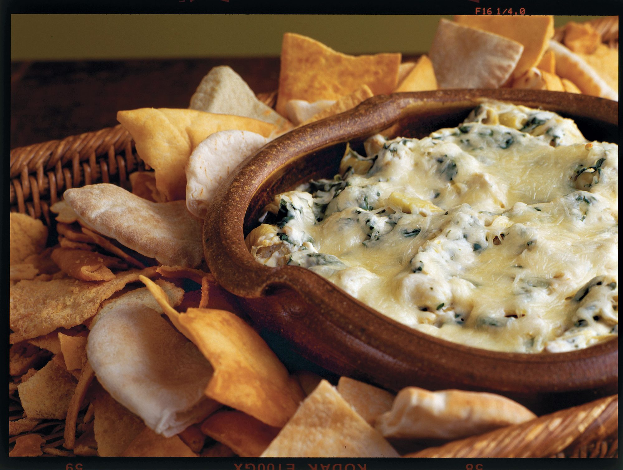 Golden Globe Appetizers Baked Spinach-and-Artichoke Dip