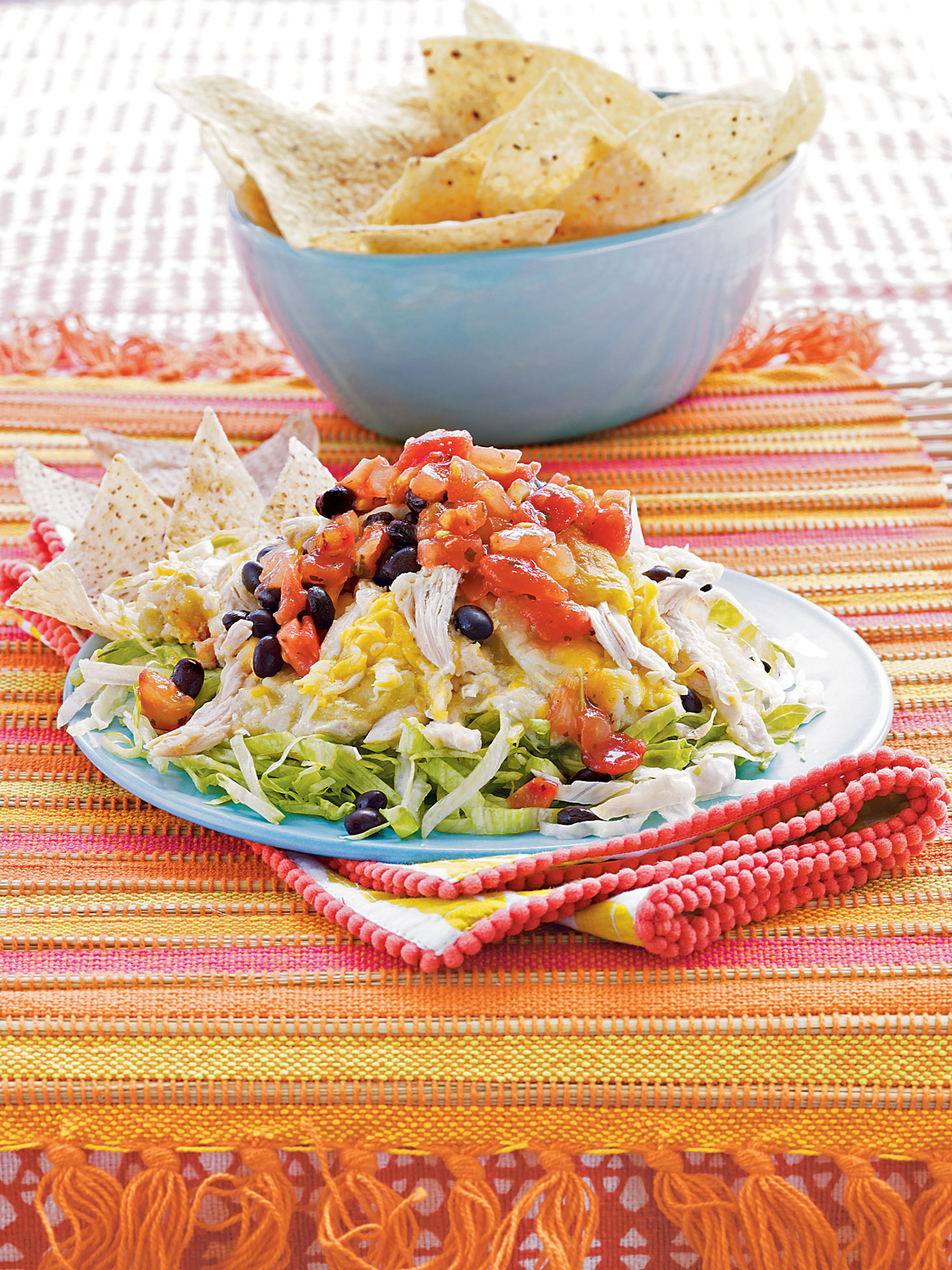 Chicken Enchilada-dip