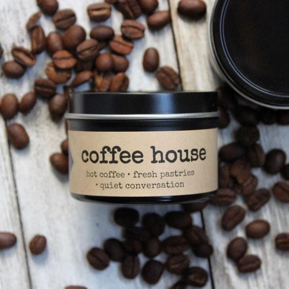 Coffee-Scented Candle