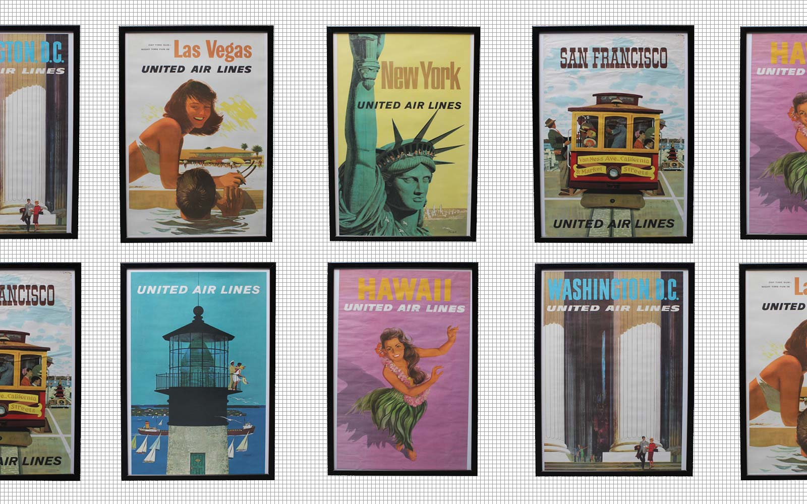 Travel Back in Time With These Stunning Travel Posters