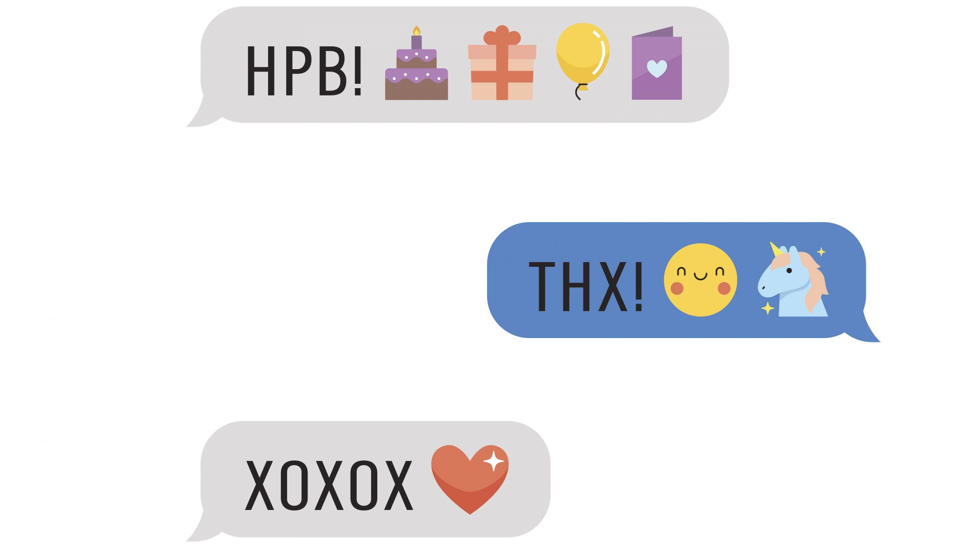 Emoji Love Text Message