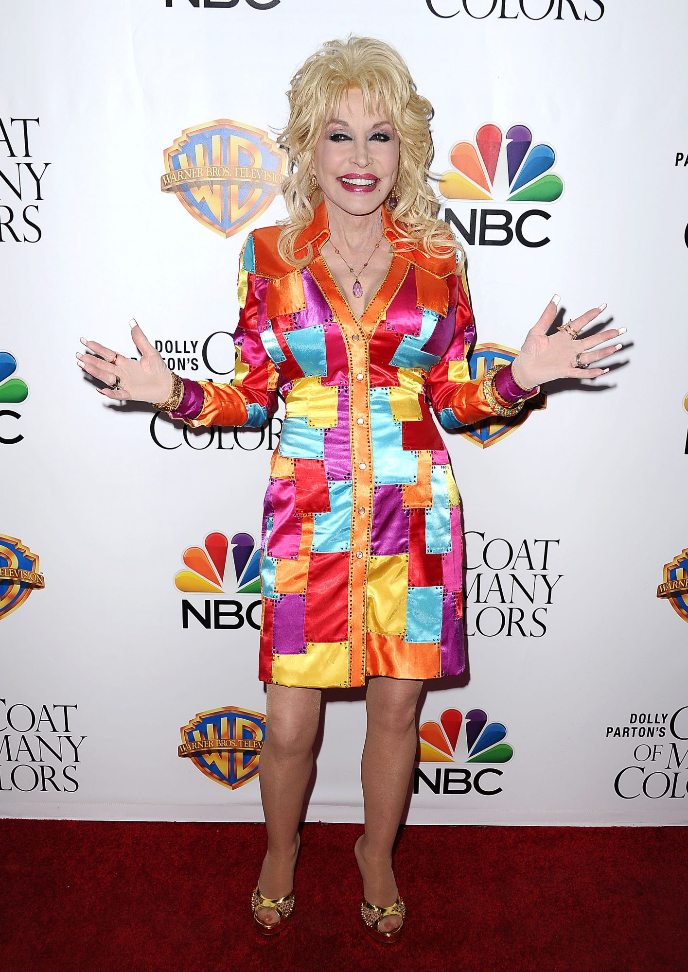 Dolly Parton Red Carpet 2015