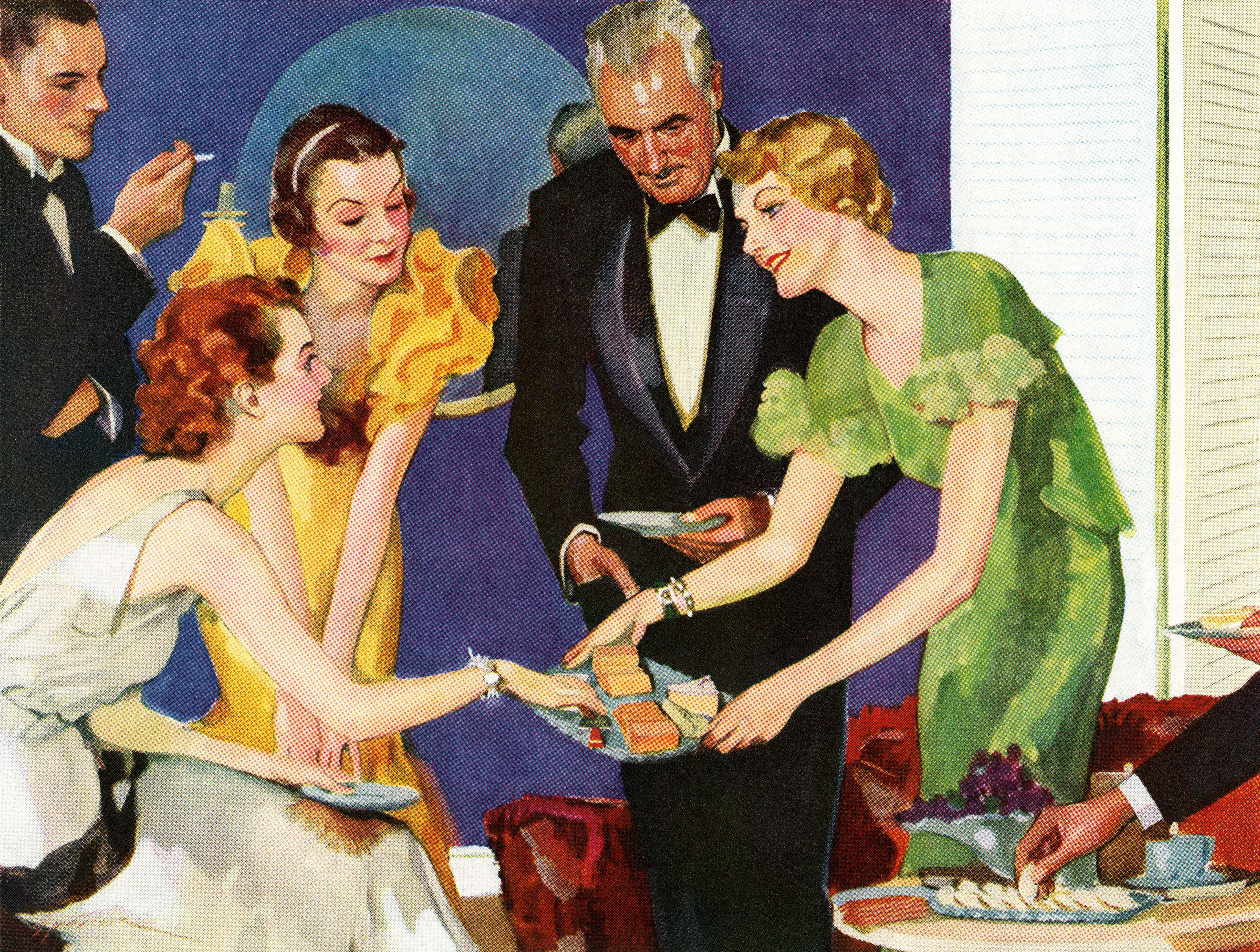 Vintage Cocktail Party