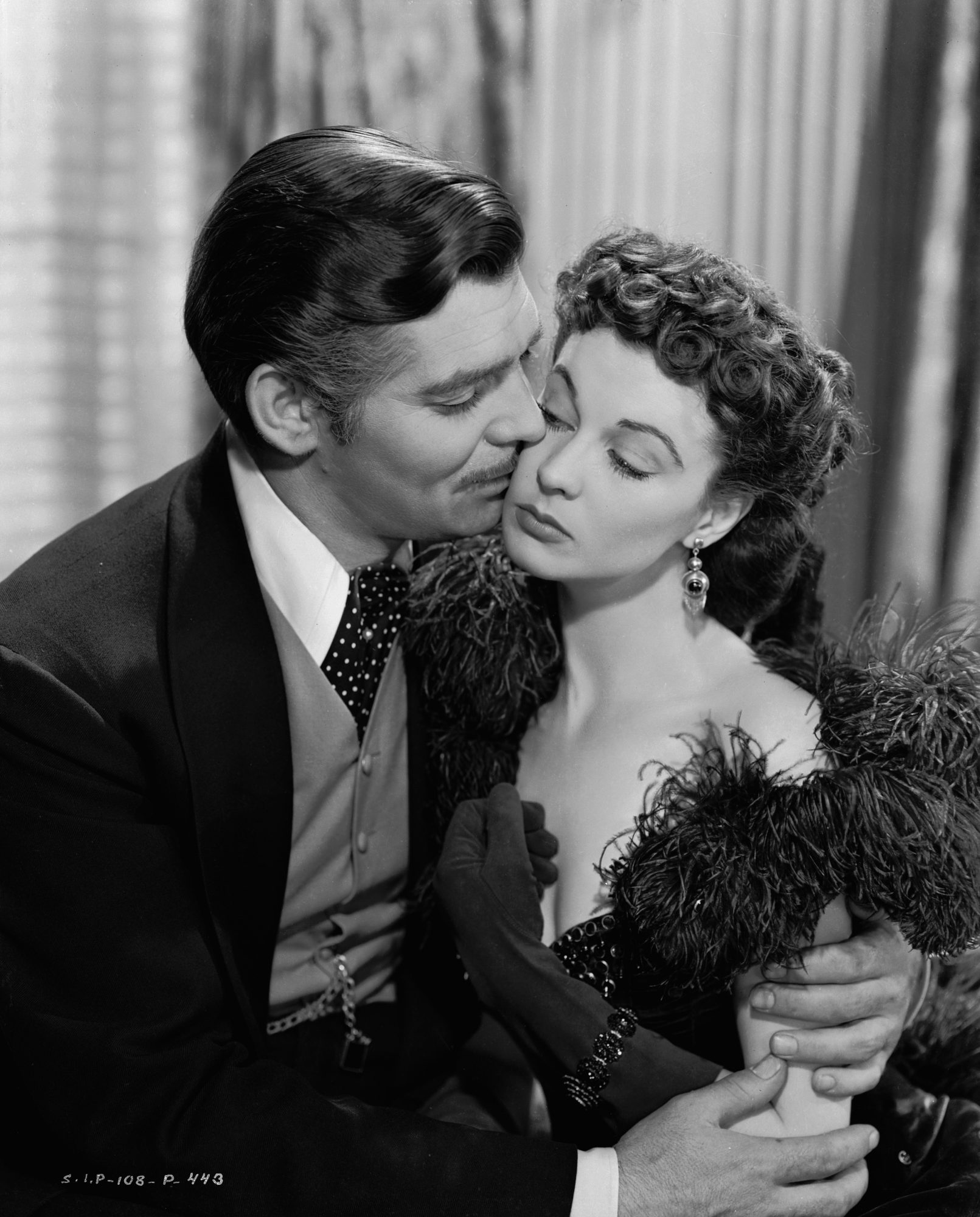 Scarlett O'Hara and Rhett Butler from Gone With The Wind
