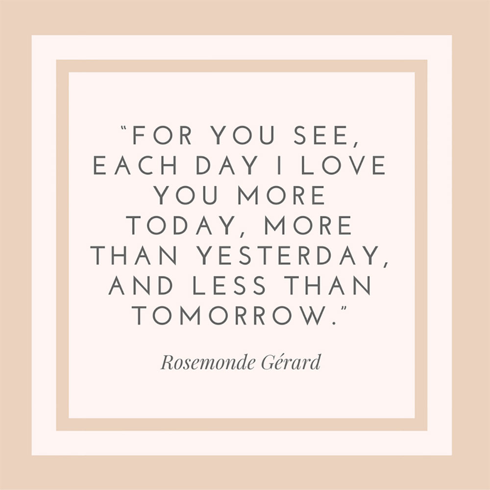 Rosemonde Gérard Quote