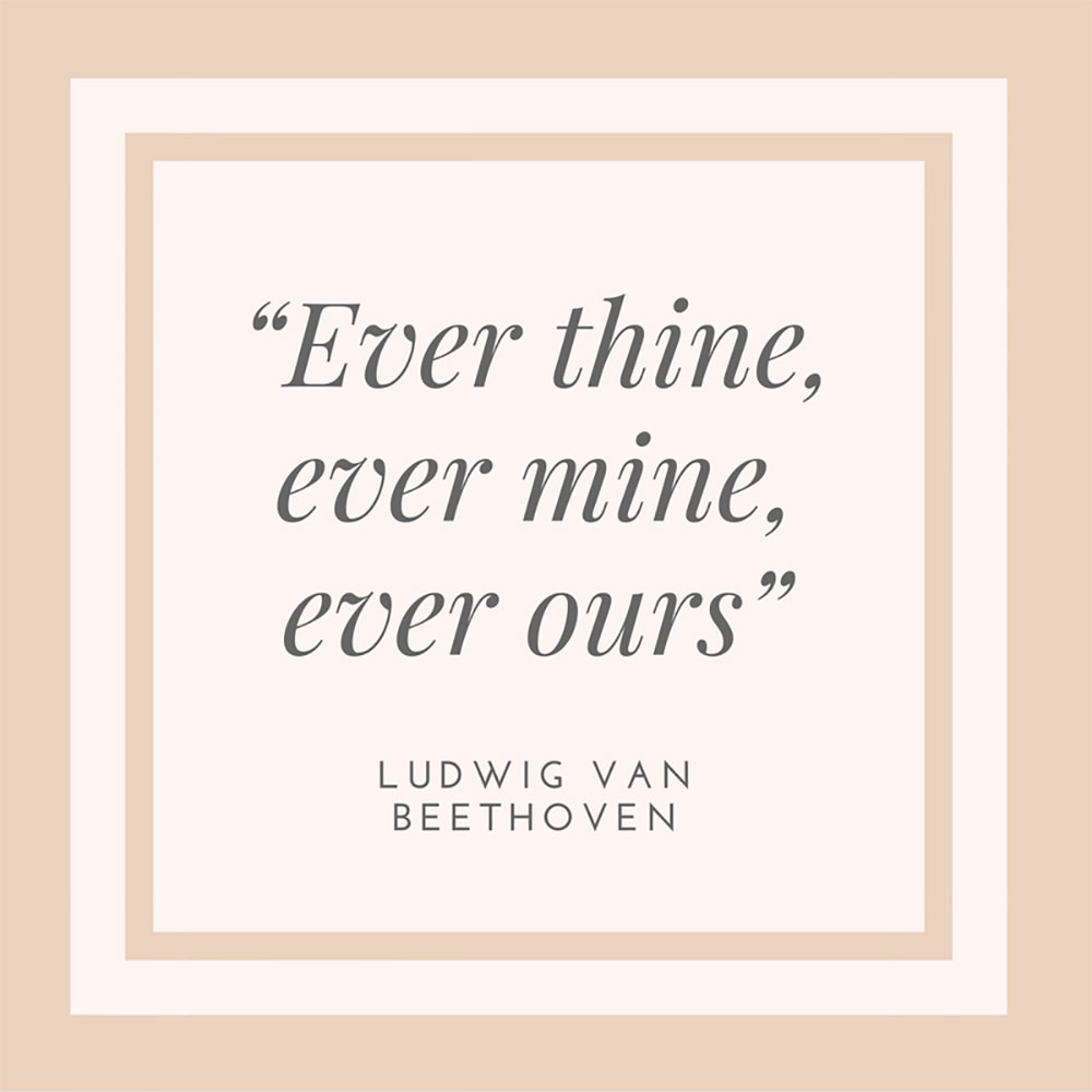 Ludwig van Beethoven Quote