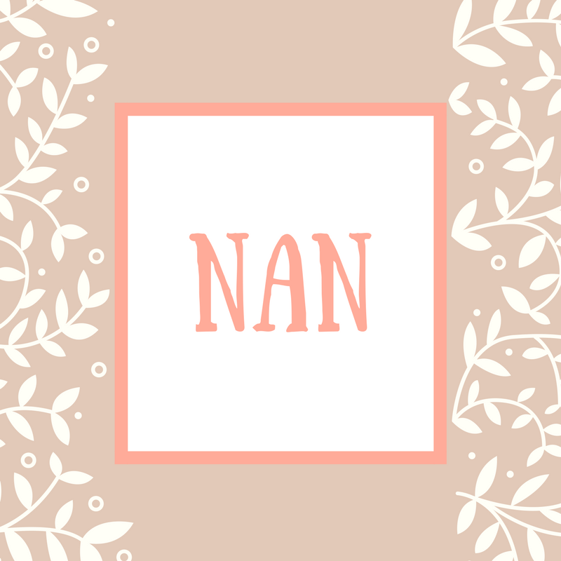 Mother-in-Law Name: Nan