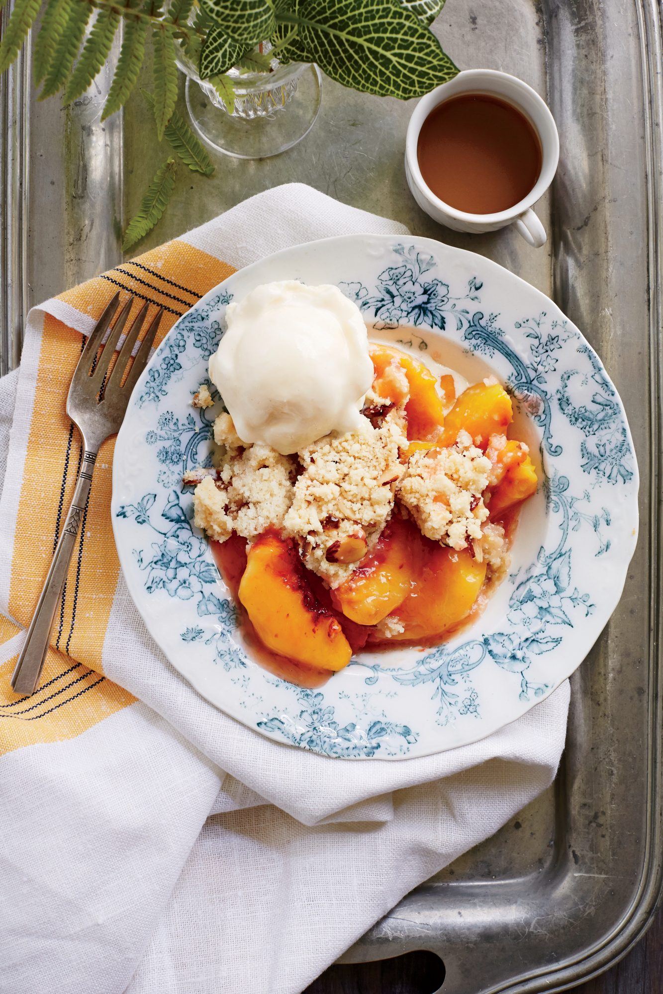 Simple Peach Cobbler With Cake Mix
