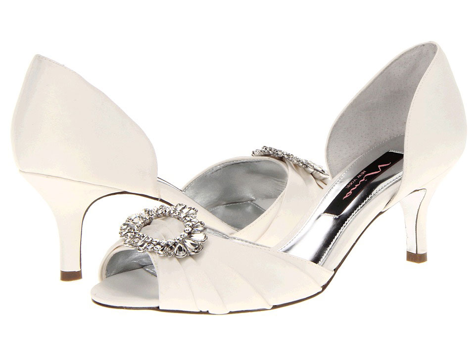 Southern Living Ivory Crystah Nina Wedding Shoes