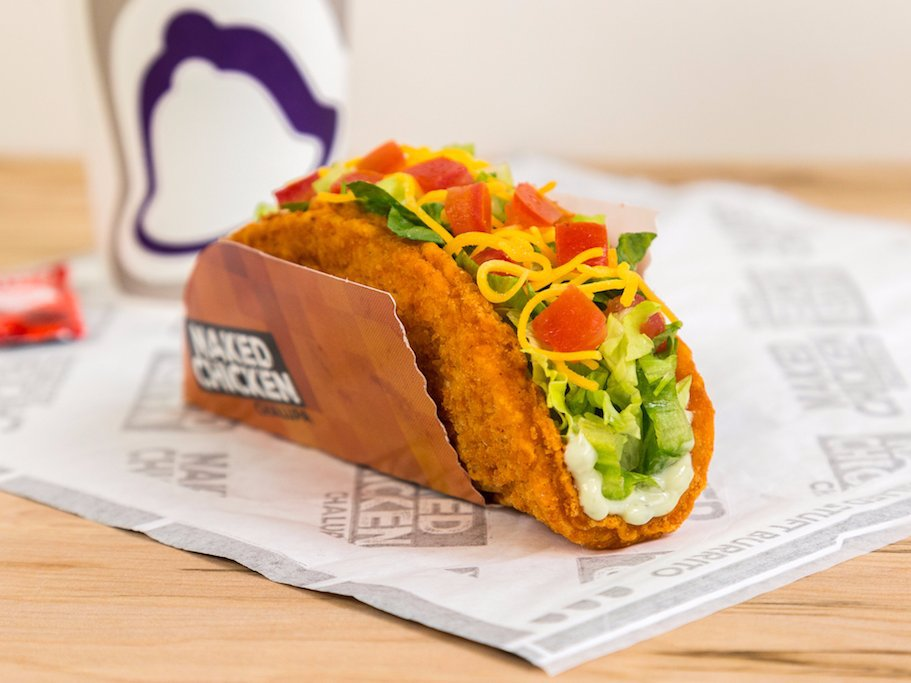 Taco Bell Is Selling a Taco Made Out of Fried Chicken