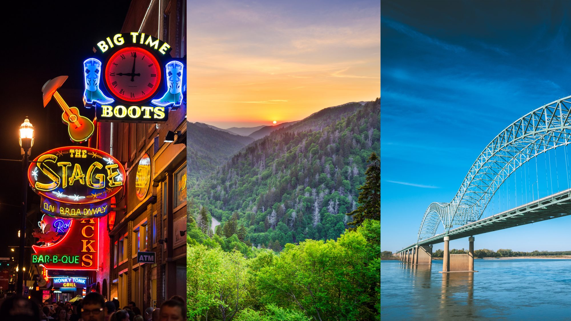 Tennessee: Nashville, The Smoky Mountains, and Memphis