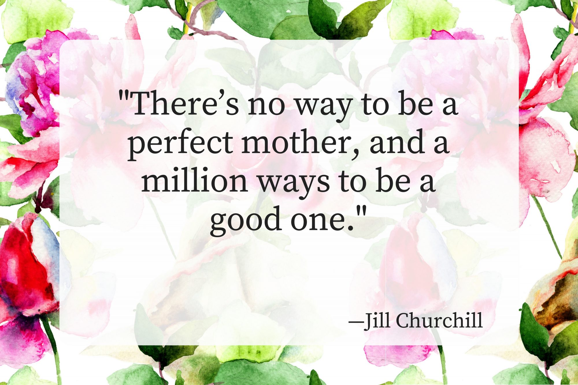 Mothers Day Quotes Jill Churchill