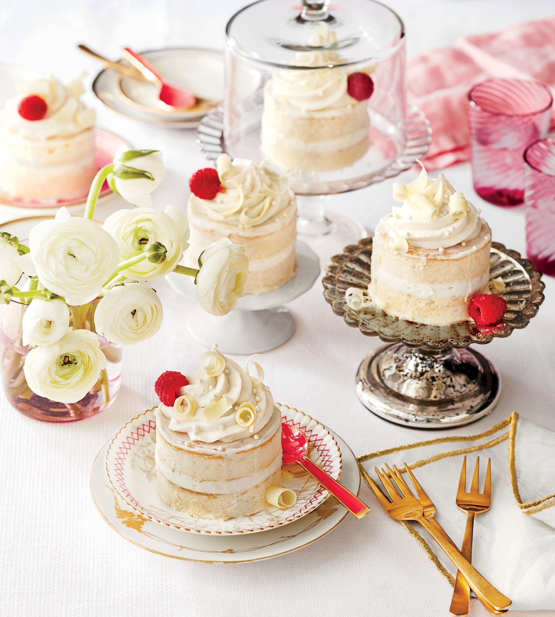 Ermilk Lime Mini Cakes With Vanilla Mascarpone Ercream Recipe Southern Living
