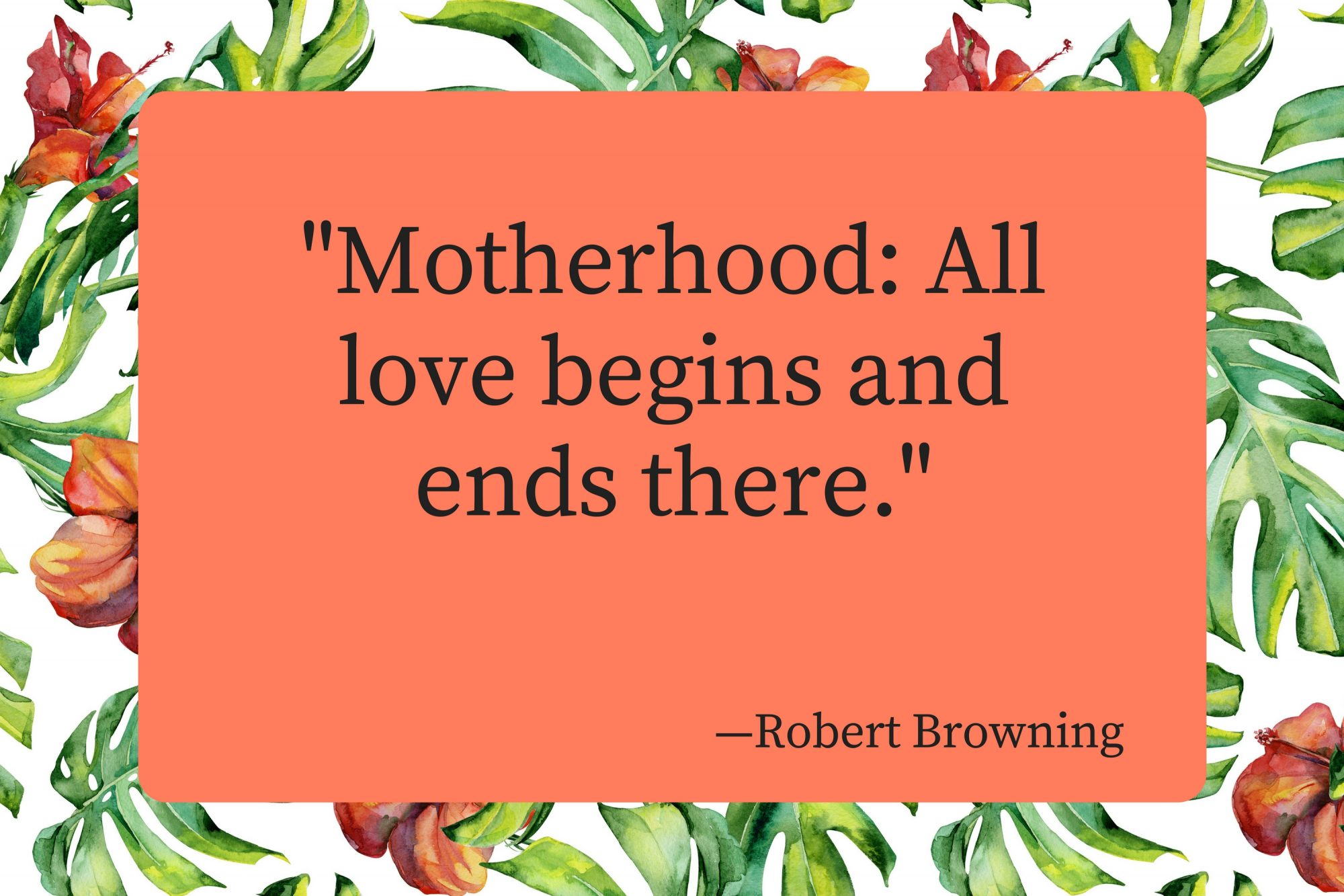 Mothers Day Quotes Robert Browning