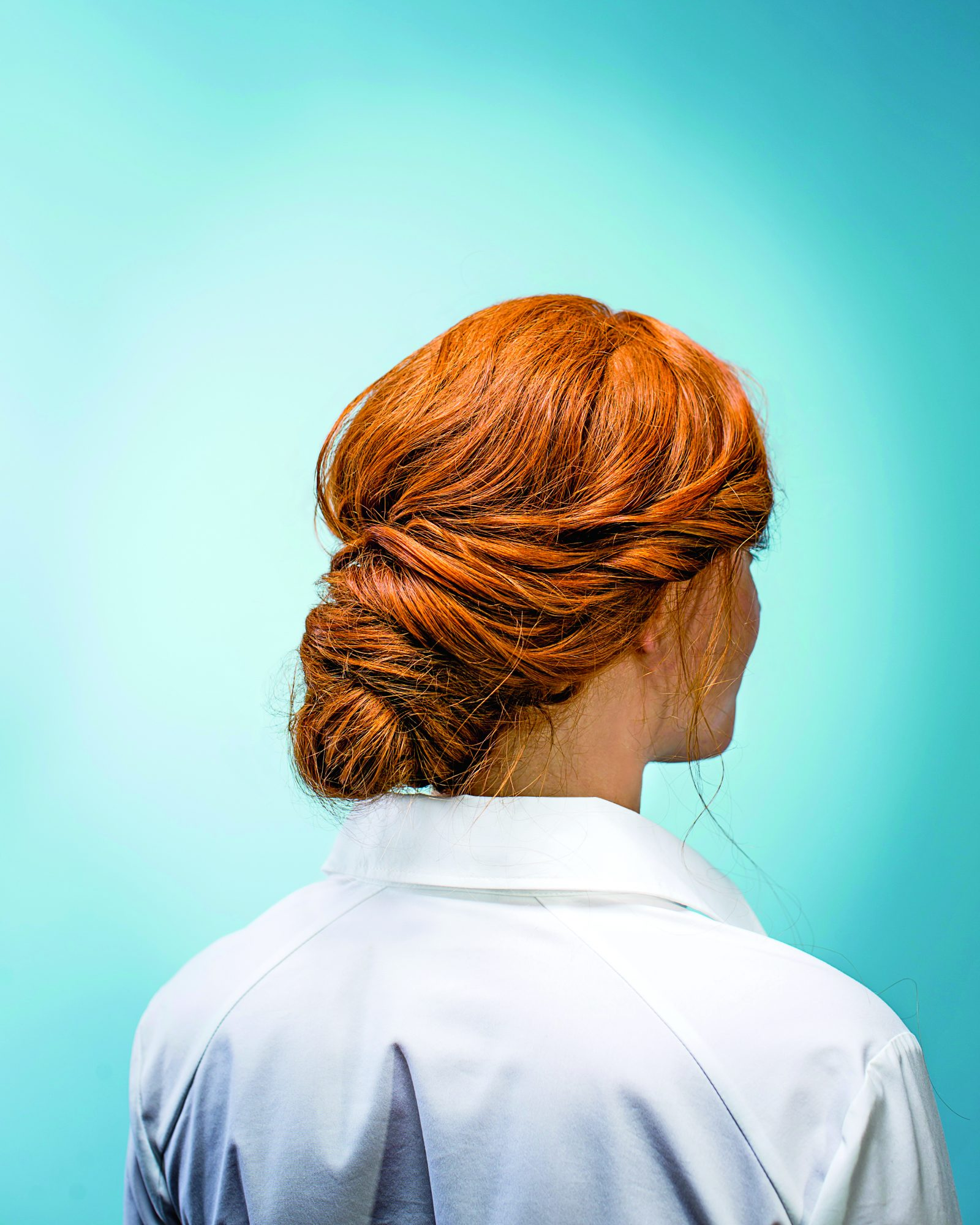 4th of July Hairstyle Our Easy, Elegant Bun