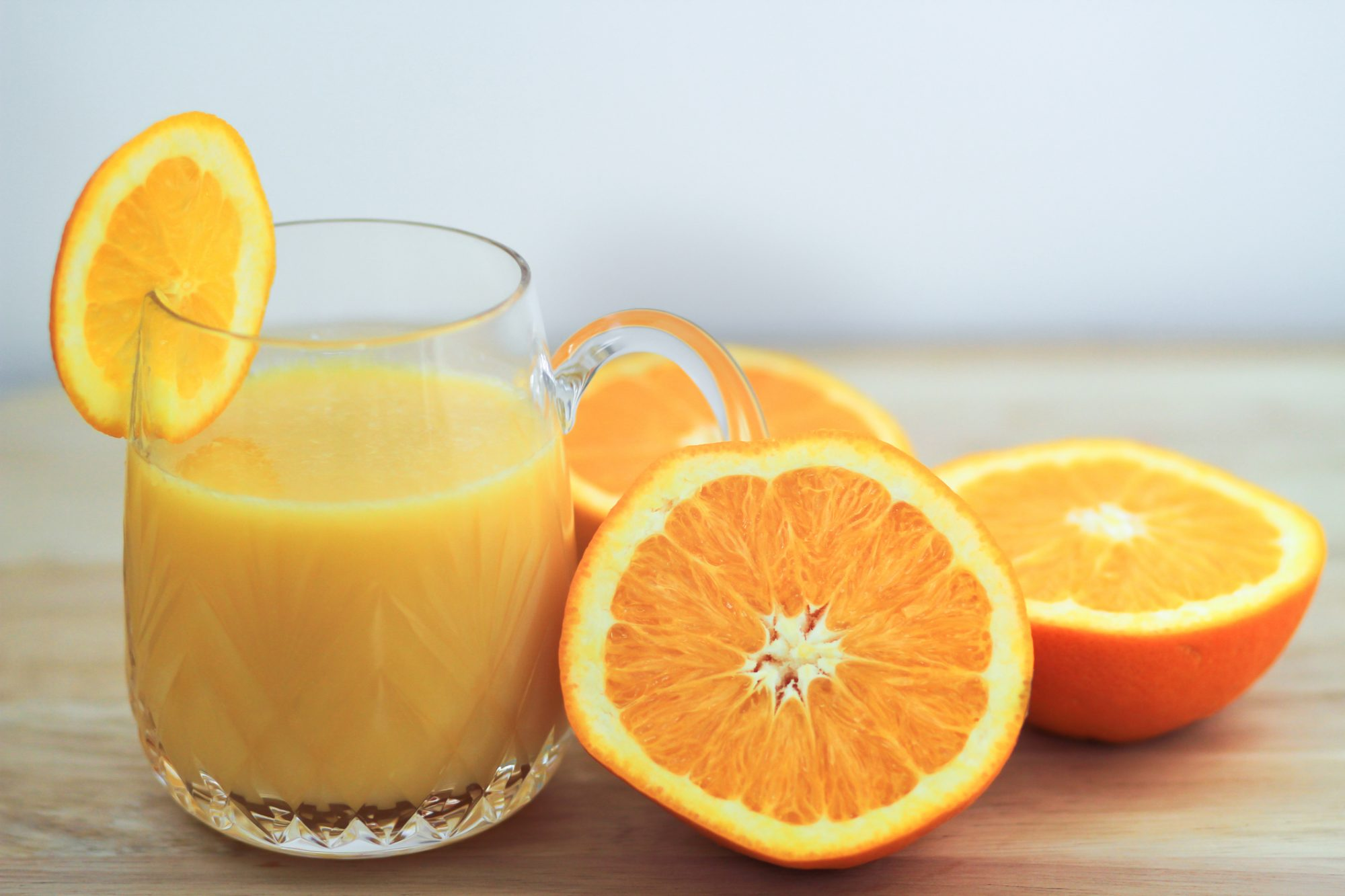 Orange juice & oranges
