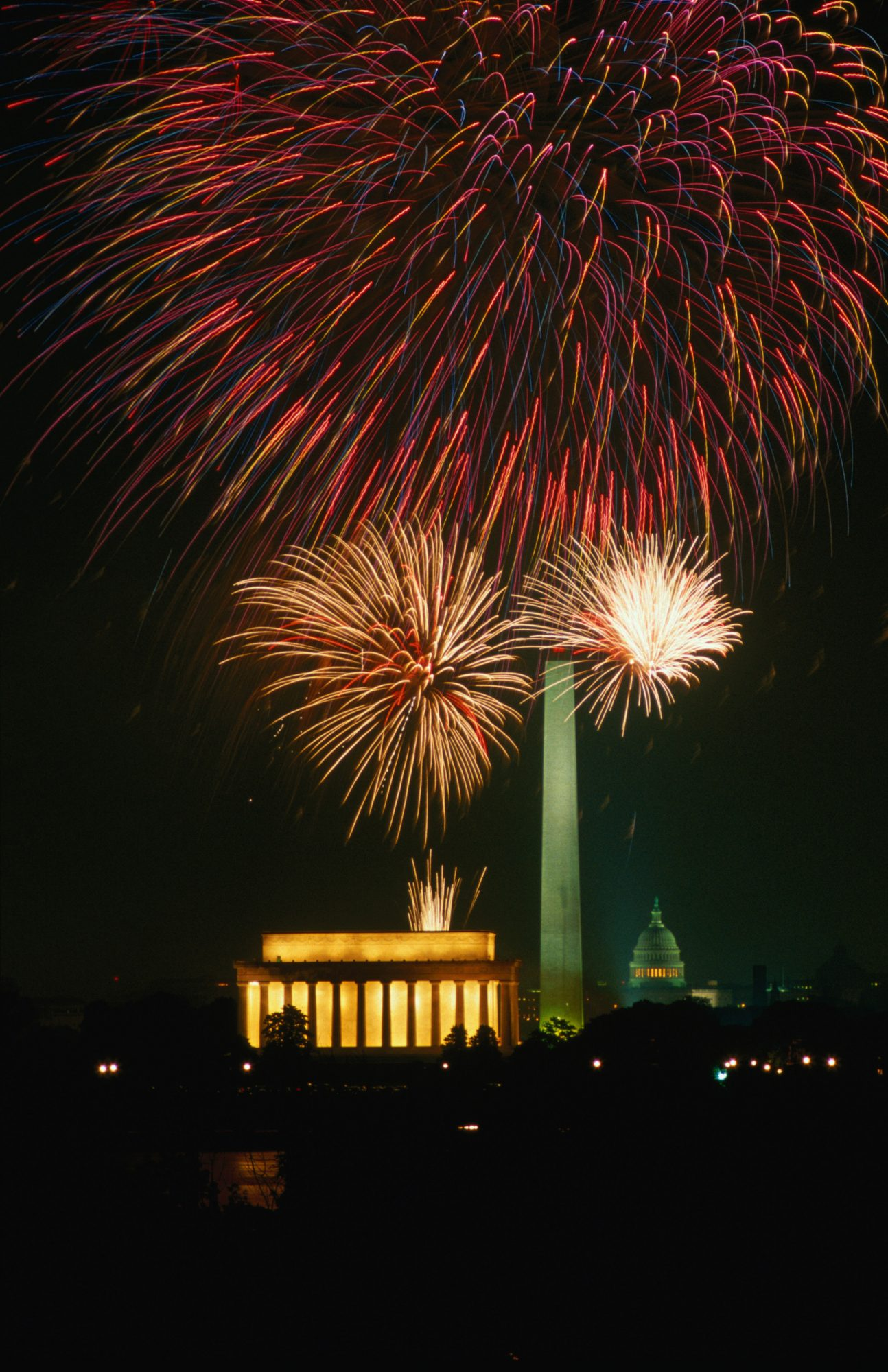 National Mall Fireworks