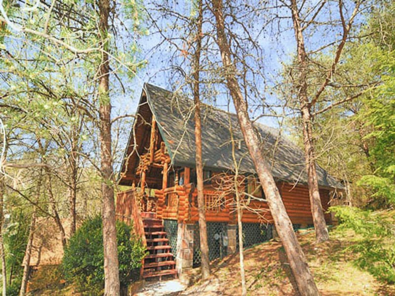 Great Smoky Mountains Cabin Rental: A Hunka Hunka Burnin' Love