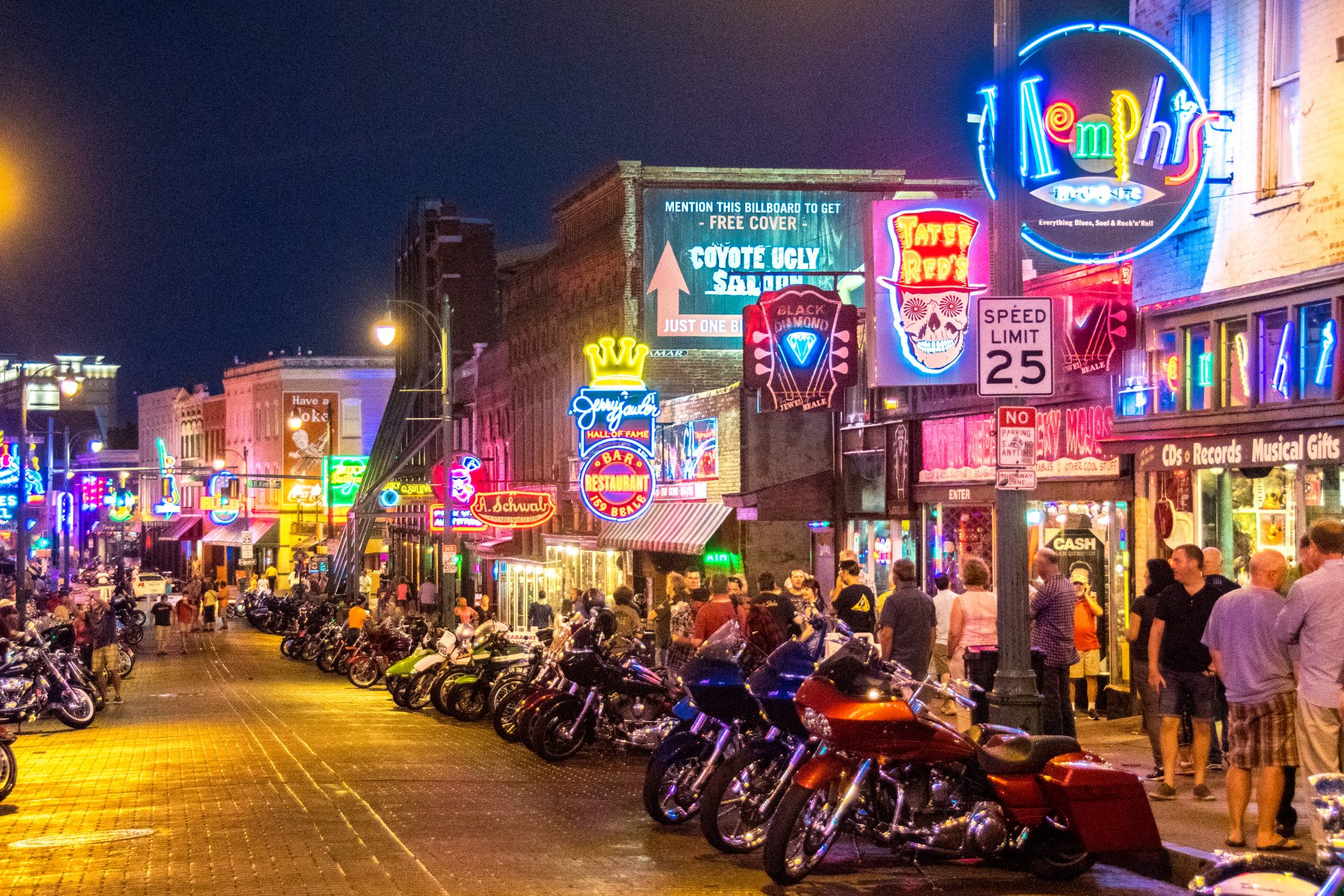 South's Most Colorful Streets Beale Street, Memphis (TN)