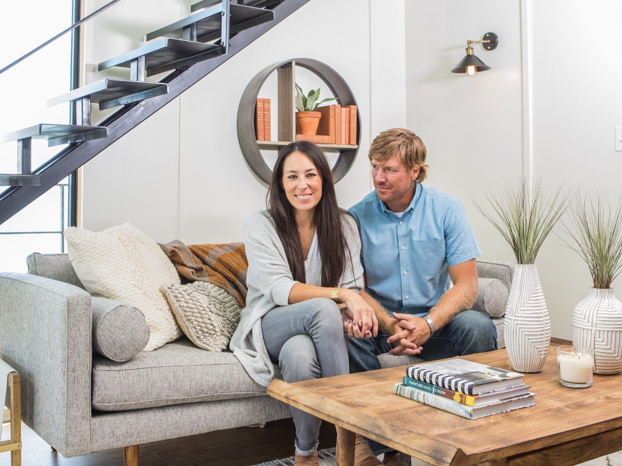 Fixer Upper House Boat: Chip and Joanna
