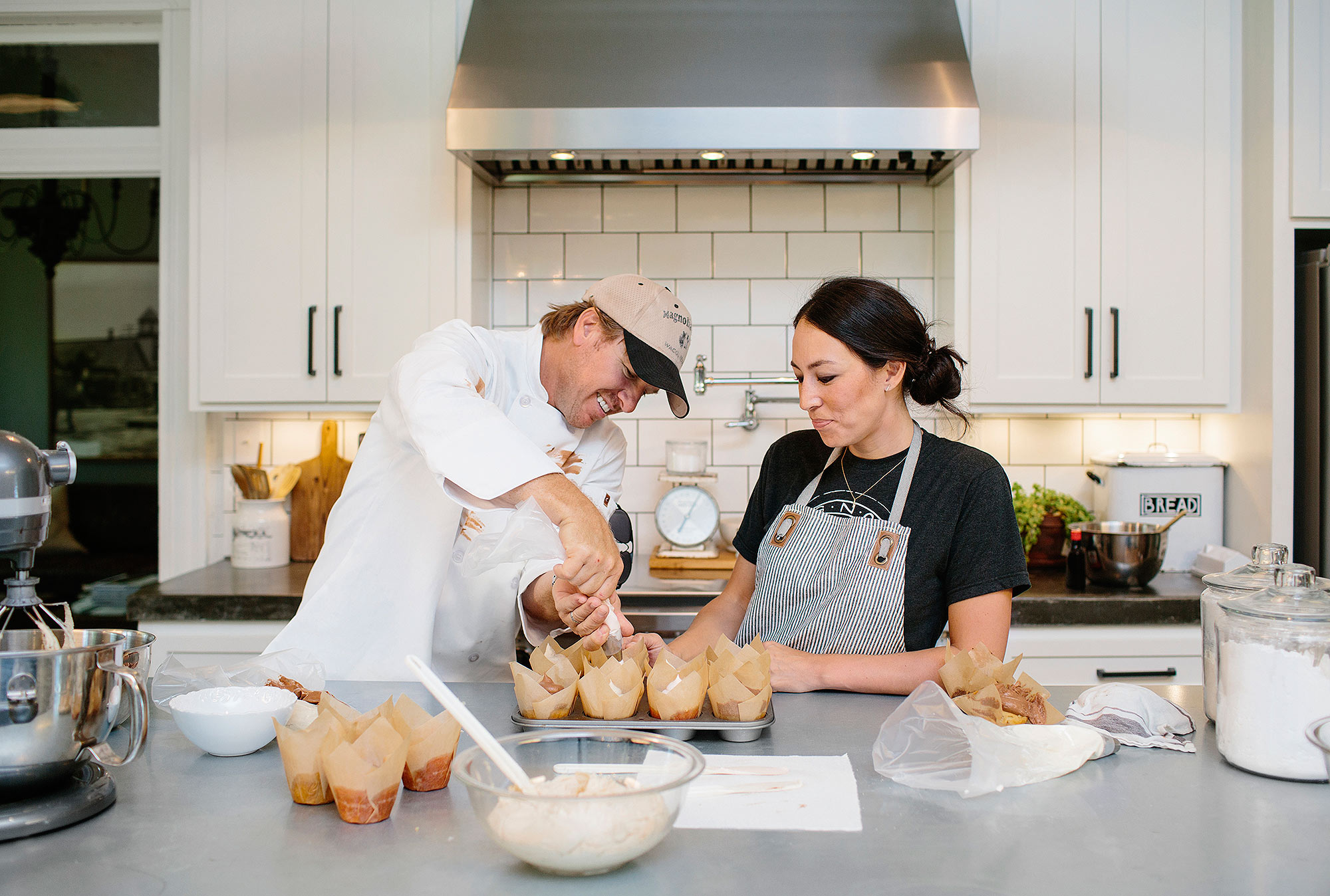 All the Details on the Old Flower Shop Chip and Joanna Gaines Transformed Into Their Waco Bakery