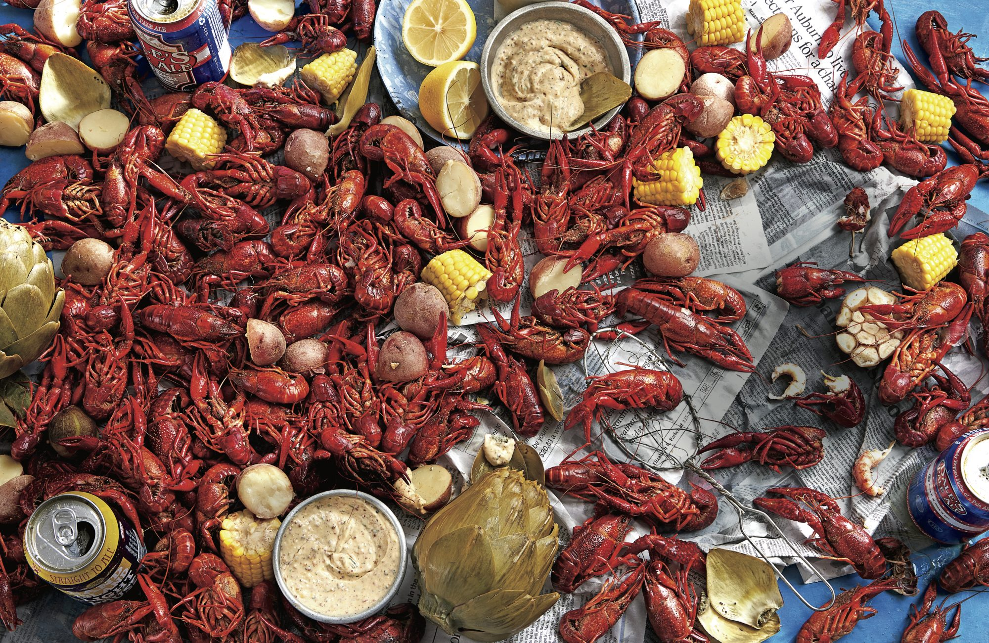 Springtime in the South Crawfish Season