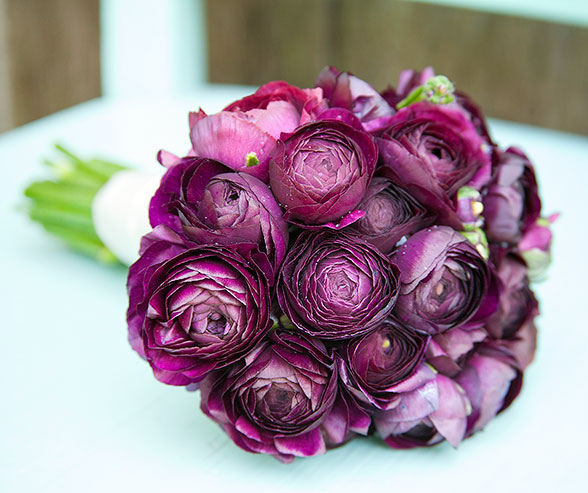 Ranunculus Wedding Bouquets Regal