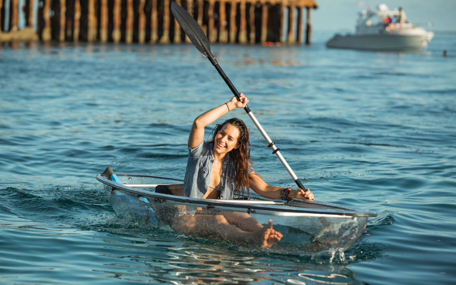 These Transparent Kayaks Give You Incredible Views of the Ocean While You Paddle
