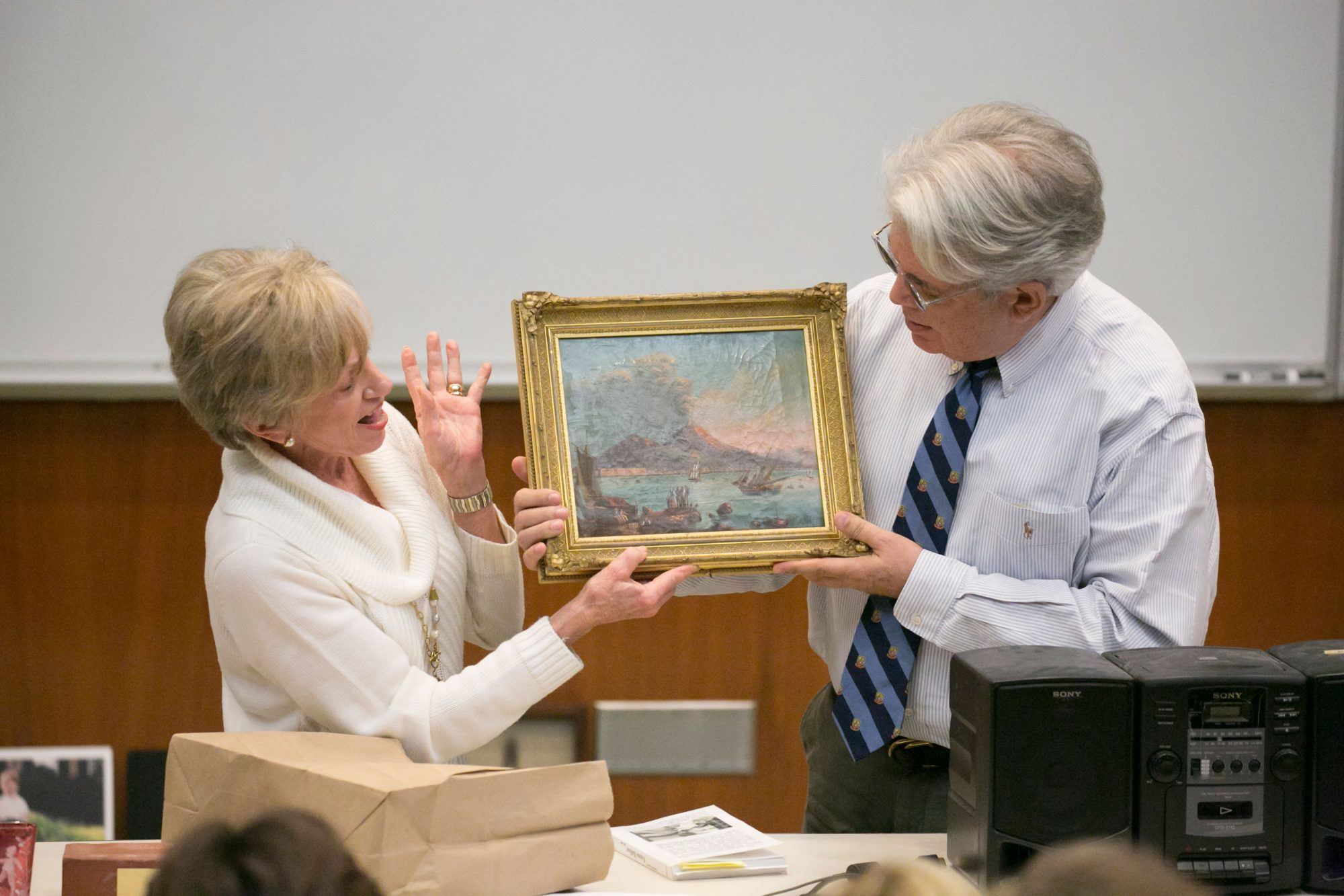 Dan Brooks Antiques Class Showing Art