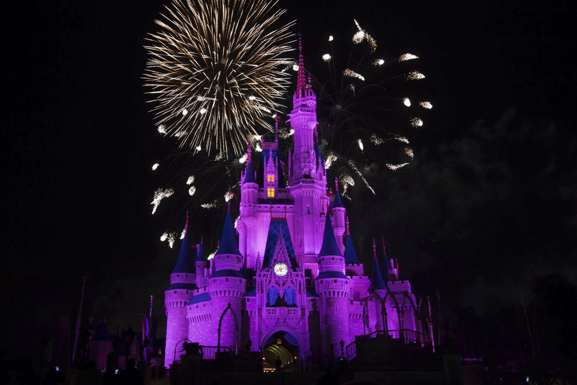 Fireworks Over Cinderella's Castle at Disney's Magic Kingdom